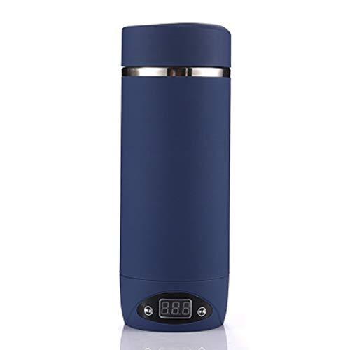 Hothap Waterkoker, mini-elektrische warmwatermok, reizen, draagbare intelligente automatische verwarming, waterkoker Wie gezeigt blauw