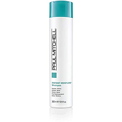 Paul Mitchell Instant Moisture Shampoo - feuchtigkeitsspendende Haarwäsche, Pflege-Shampoo ideal für trockene Haare, 300 ml