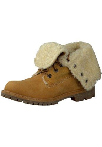 TIMBERLAND Sherling Authentics Braun Lammfell Damen Boots Stiefel 61672, Größenauswahl:41