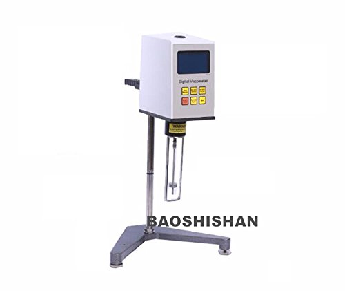 Amazing Deal BAOSHISHAN Digital Display Rotary Viscometer Viscosity Fluidimeter Tester Meter High Pr...