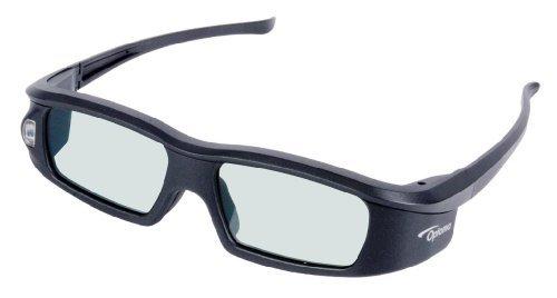 Optoma ZD301 - Gafas 3D, negro