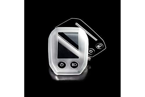 MH Cover Coque de Protection Shimano Step SC-E6010 Display E-Bike Adulte Unisexe, Transparent, Taille Unique