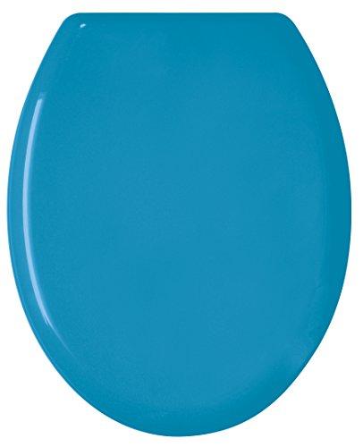 GELCO Design Abattant WC Color, Polypropylene, Bleu Vivid, 48 x 36 x 4 cm