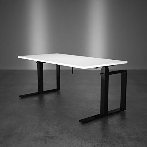 Inwerk Steh Sitz Schreibtisch Masterlift 3 (Schwarz, 1800x800)