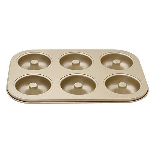 Jessicadaphne Antihaft Gold 6 Even 12 Donut Backblech Runde Hohle Engelsform Kuchen Backform Backofen Werkzeug