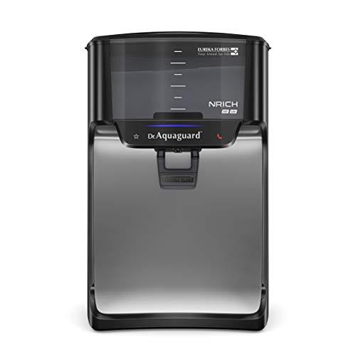 Dr. Aquaguard Nrich HD UV Water Purifier with Copper Maxx, Black