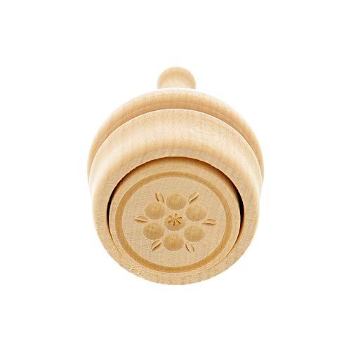 Hofmeister Holzwaren Stampo per Il Taglio del Burro 30 Grammi con Motivo (Fiore)