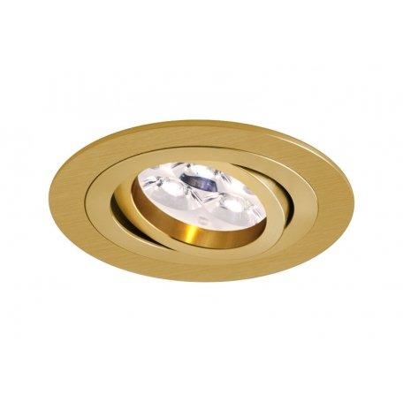 Bpm Lighting - Foco Empotrable Circular Mini Catli, Color Oro Satinado