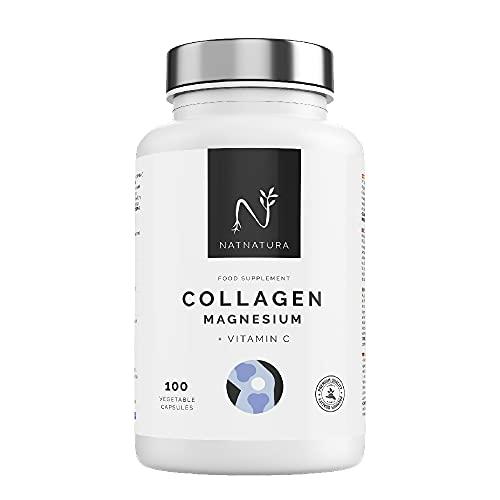Colágeno marino con magnesio. Colágeno hidrolizado PEPTAN® para el mantenimiento de articulaciones, cartílagos, huesos y piel. Colágeno Marino Hidrolizado + magnesio + ácido hialurónico + vitamina C.