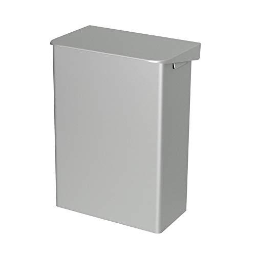 OPHARDT hygiene 287300 Ingo-man AB 15 A Geschlossene Abfallbox mit Klappdeckel, 15 Liter