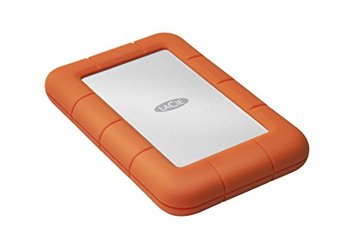 LaCie Rugged Mini - Disco Duro Externo portátil para Mac y PC 1 TB (USB 3.0, 2.5')