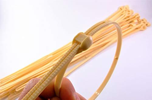 20 x Wurstschlaufen für rohen schinken aus lebensmittelechtem nylon – metzgerhaken | Fleisch haken | Metzgerhaken | Kunststoffhaken für Fleisch | Fleischhaken aus Kunststoff