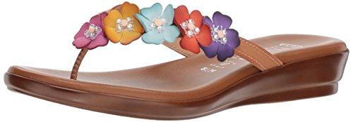 ITALIAN Shoemakers Women's Emina Sandal, Bright Multi, 10 M US