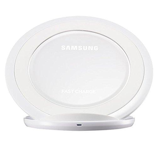Samsung Induktive Schnellladestation Qi-Charger Kompatibel mit Samsung Galaxy S7/S7 Edge, weiß