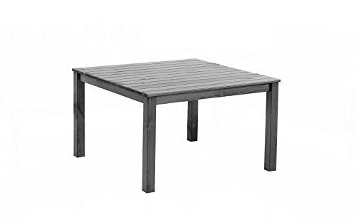 Ambientehome Tisch OSLO, 116 x 116 x 70 cm, grau