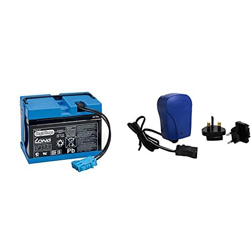 Peg Perego Batteria, 12 V, 12 Ah & Kit Caricabatterie, 12 V, 0.85 A