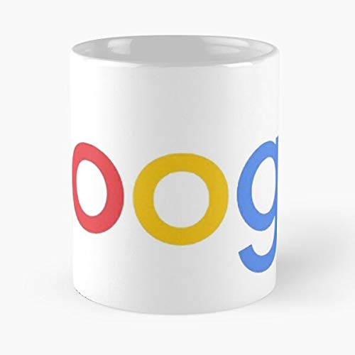Orangeburps Tech Web Logos Internet New Logo Google Youtube Taza de café con Leche 11 oz
