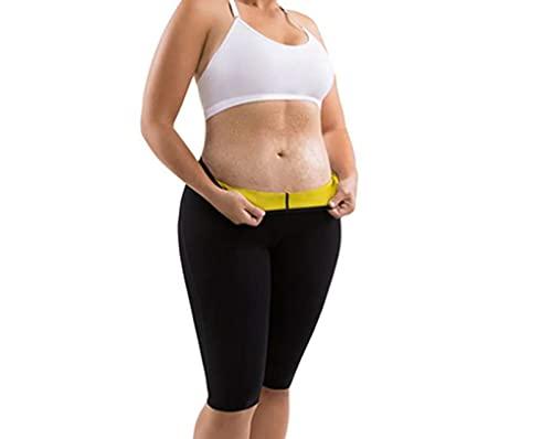 REDCVBN Pantalones adelgazantes para Mujer Hot Thermo Neopreno Sudor Sauna Body Shapers Cintura Alta Control de Abdomen Fajas