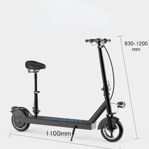 Electric Scooter 10-inch Run-Flat Tires, Electric Scooter Adults with a 500W...