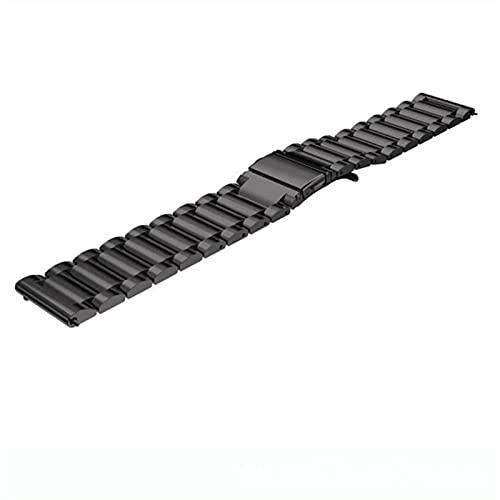 WWXFCA 2 correas de acero inoxidable de malla y soild de 20 mm para Samsung Galaxy Watch 42 mm/Active 40 mm/Gear S2 Classic/Gear Sport Band (Color de la correa: H, ancho de la correa: 20 mm Gear S2)