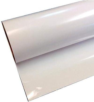 HEAT TRANSFER VINYL- WHITE, O.5M X 2M