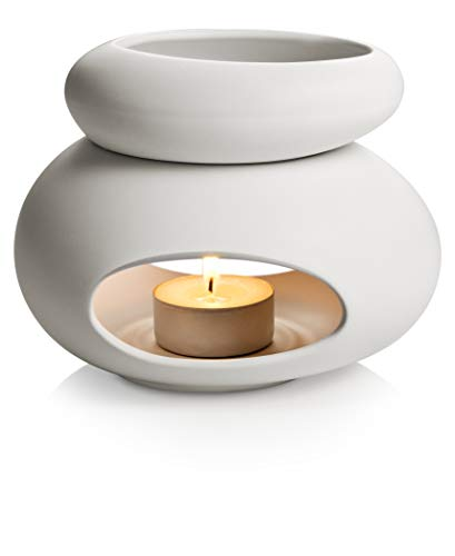 Tescoma 906832.11 Fancy Home Diffusore di Aromi, Ceramica Smaltata, Bianco, 1 Pezzo