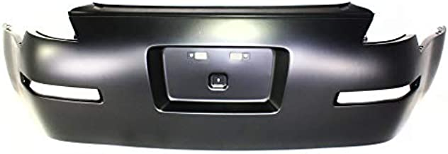 Evan-Fischer Rear Bumper Cover Compatible with 2003-2009 Nissan 350Z Primed Grand Touring/Performance/Track Models