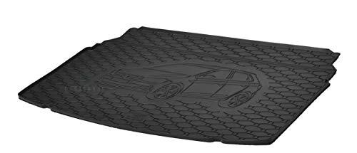 Kofferraumwanne Kofferraummatte Antirutsch RIGUM geeignet für VW Polo VI Schrägheck ab 2017 Perfekt angepasst + Auto DUFT