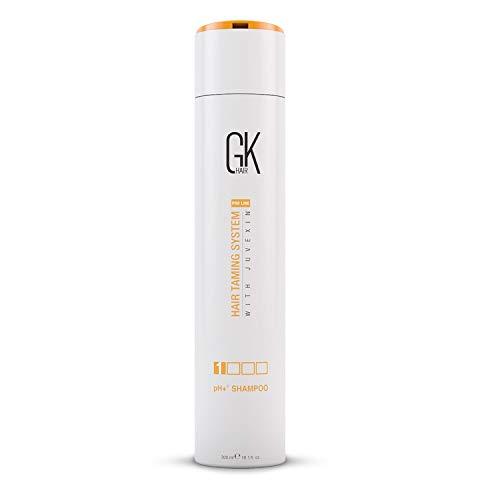Global Keratin GK Hair pH + Champú clarificante pretratamiento 300ml para limpieza profunda, elimina impurezas con aloe vera, vitaminas y aceites naturales