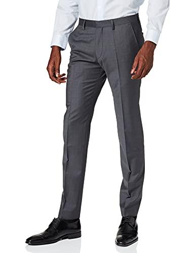 Roy Robson Slim Pantaloni Eleganti, Grigio (Anthrazit 8), W33/L32 Uomo