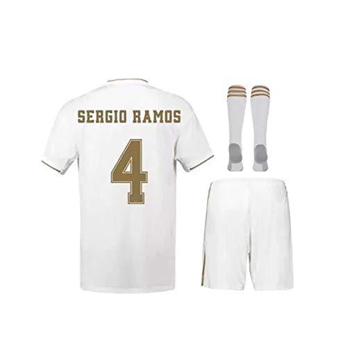 WWLONG Erwachsene Kinder Spanien Heimfußballuniform 10# Modric 7# Hazard Sommer Fußball Trikot Trainingsset kann angepasst werden-Num10-22