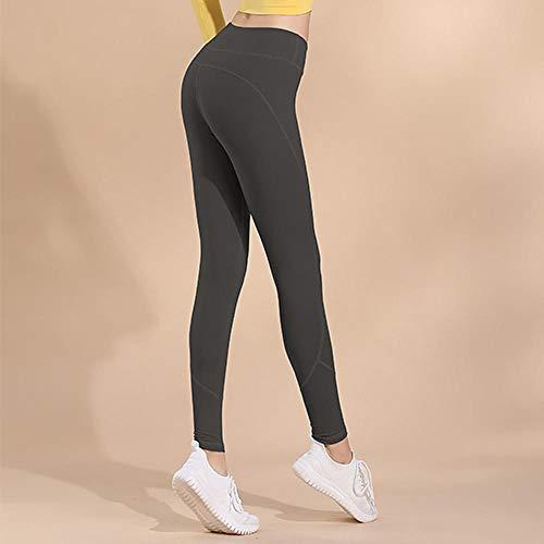 EVNMD Pantalones De Yoga Femeninos De Cintura Alta Elásticos Leggings Sin Costuras Flexiones Ropa Deportiva Medias Femeninas Pantalones De Yoga De Fitness Femenino-Gramo_L