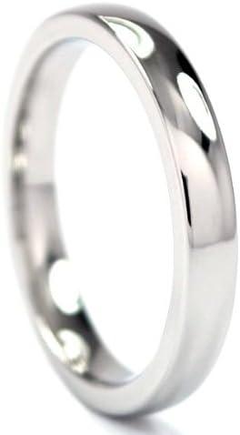 Cobalt Chrome Ring, Cobalt Rings, Cobalt Wedding Bands, Comfort Fit