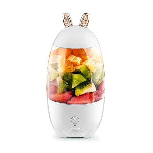 CHENGBEI Liquidificador portátil de 330 ml mini USB recarregável elétrico centrífuga de frutas