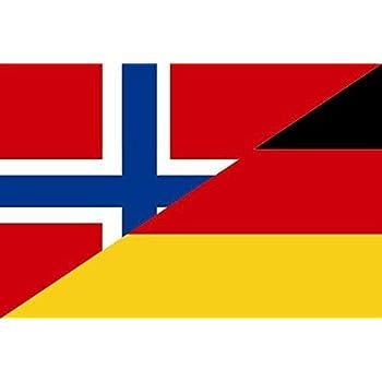 Aufkleber Vietnam-Deutschland Flagge Fahne 30 x 20 cm Autoaufkleber Sticker