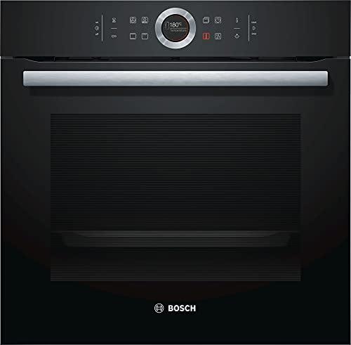 Bosch Elettrodomestici HBG633NB1 Serie 8, Forno da incasso, 60 x 60 cm, nero Classe A+