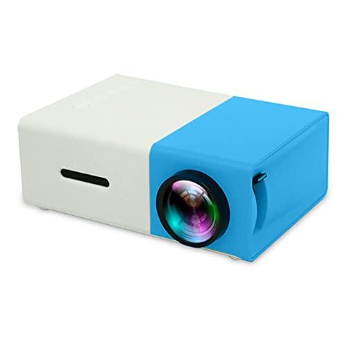Proyector De Mini Proyector LED Proyector Portátil HD 1080P Camping Dormitorio Dormitorio Player