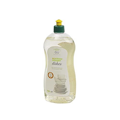 Detergente Lavavajillas Ecológico 750 ml - Para Lavado a Mano - Libre de Sulfatos y Alérgenos - Materias Primas Vegetales - Lavavajillas Líquido - Aroma de Naranja - GU Planet