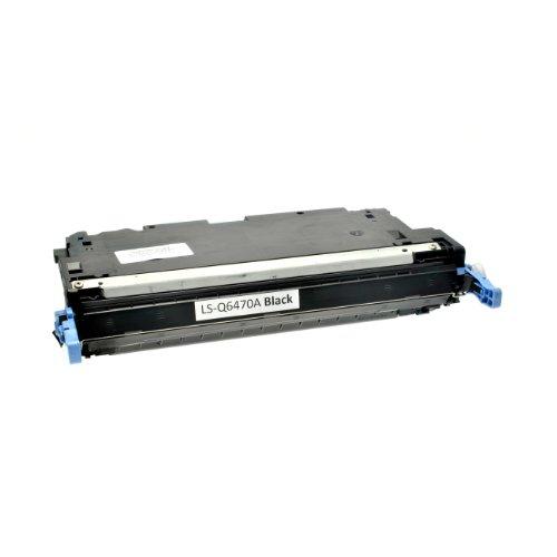 Toner kompatibel für HP Color Laserjet 3600/3800 etc schwarz - schwarz, 6.000 Seiten, komaptibel zu q6470a