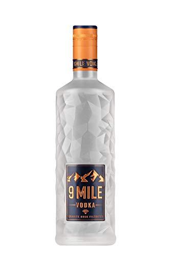 9 Mile Vodka Wodka 0,7l (37,5% Vol) LED beleuchtet - [Enthält Sulfite]