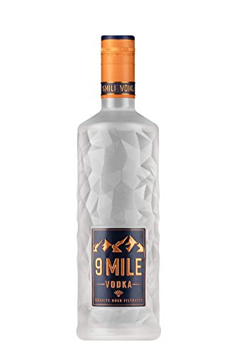 9 Mile Vodka Wodka 0,7l (37,5% Vol) LED beleuchtet - [Enthält Sulfite]