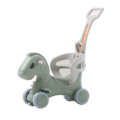 Sale!! YUMEIGE Rocking Ride-Ons Children's Rocking Horse 42° Safe Margin,Rocking Horse with Safet...