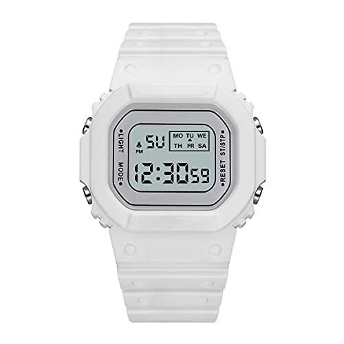 Big Cargo Net Unicornio Deportes Electrónico Reloj Partido Hombre Y Mujer Cuadrado Blanco