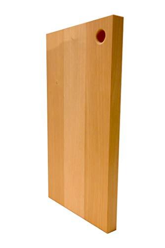 katajiya 木製まな板 国産 【いちょう無垢材使用】 本格使用の Lサイズ (450×270 厚30) ハンドメイド品 ※削り直しサービス付※