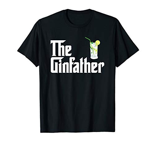 The Gin Father Shirt Funny Gin And Tonic Gifts