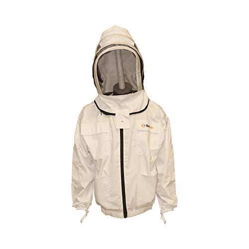 BeeFun Professionelle Bienschutzjacke mit Hut für den Imker (L)