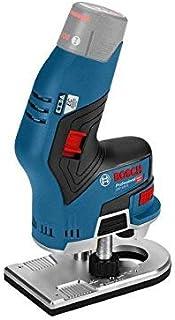 Bosch 06016B0072 GKF 12 V-8 12v Li-ion Brushless Router Bare Unit, Blue, 25.2 cm*14.4 cm*8.0 cm