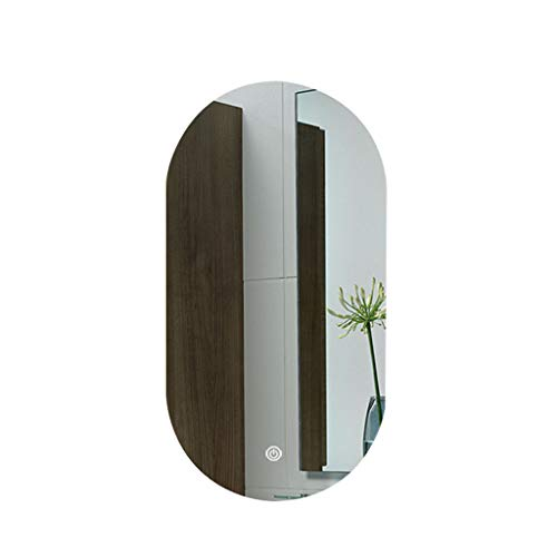 ZI LING Shop- Badezimmer führte Lampen-an der Wand befestigter Spiegel, intelligenter Bluetooth-Musik-Touch Screen Anti-Fog (Farbe : C, größe : 60 * 90cm)