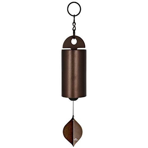 Woodstock Chimes HWMC The Original Guaranteed Musically Tuned Chime Medium Heroic Windbell, Antique Copper
