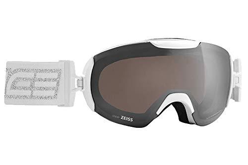 Salice 604DARWF Skibrille SR weiß Silber Unisex Erwachsene Einheitsgröße